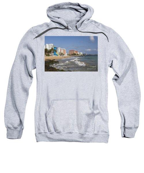 Condado Beach San Juan Puerto Rico Sweatshirt