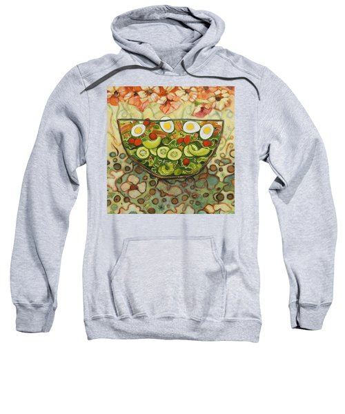 Cool Summer Salad Sweatshirt