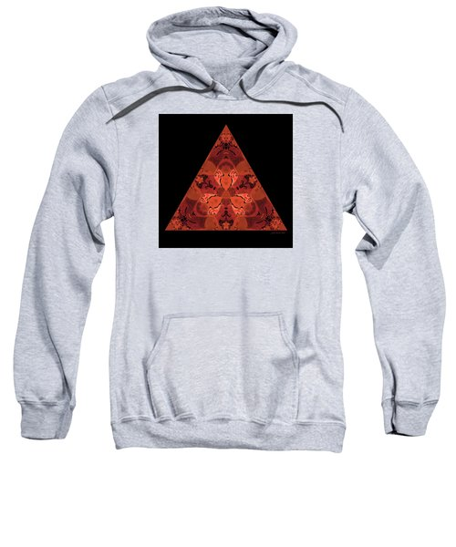 Copper Triangle Abstract Sweatshirt