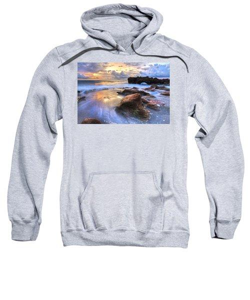 Coral Garden Sweatshirt