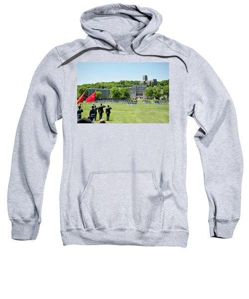 Corps Of Cadets Present Arms Sweatshirt