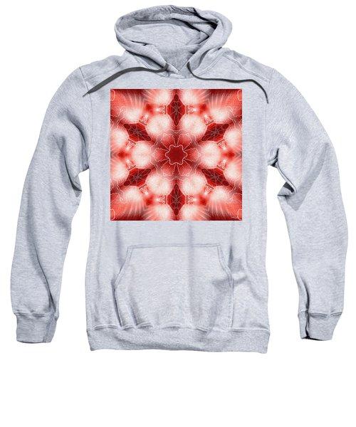 Cosmic Spiral Kaleidoscope 22 Sweatshirt