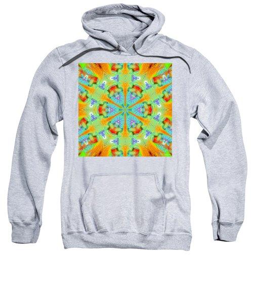 Cosmic Spiral Kaleidoscope 41 Sweatshirt