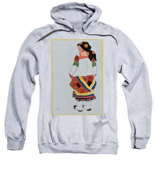 Costume Design For A Peasant Girl, 1922 Sweatshirt