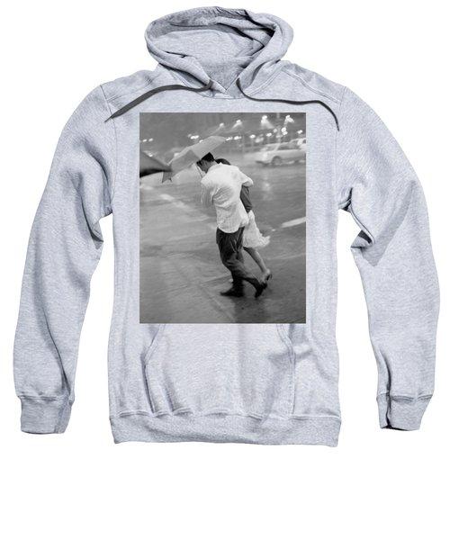 Couple In The Rain Sweatshirt
