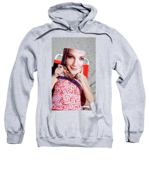 Cover Girl Sweatshirt