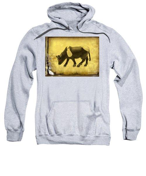 Cow Figurine Sweatshirt