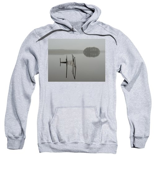 Sweatshirt featuring the photograph Crannog At Lake Knockalough by James Truett