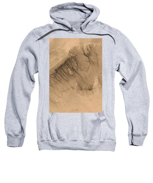 Crater On Mars Sweatshirt