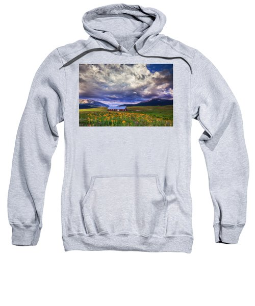 Crested Butte Morning Storm Sweatshirt