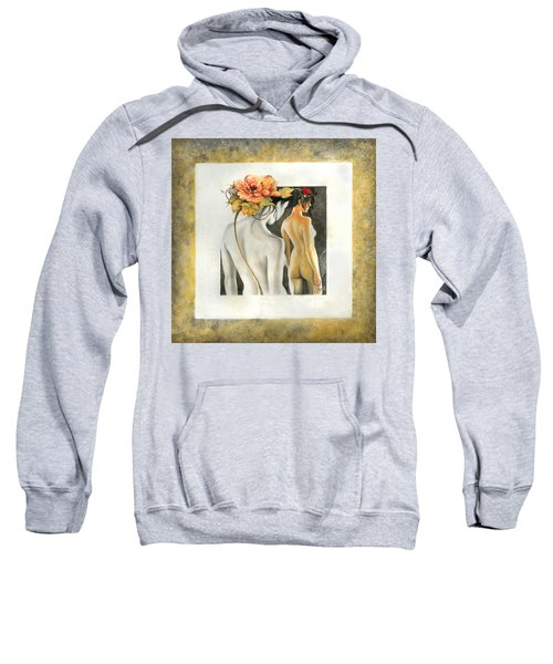 Crossing To The Another Side Of The  Shadow Sweatshirt