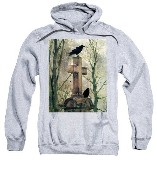 Urban Graveyard Crows Sweatshirt