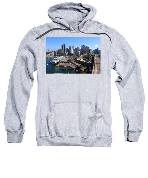 Cruiser Ship In Sydney Sweatshirt
