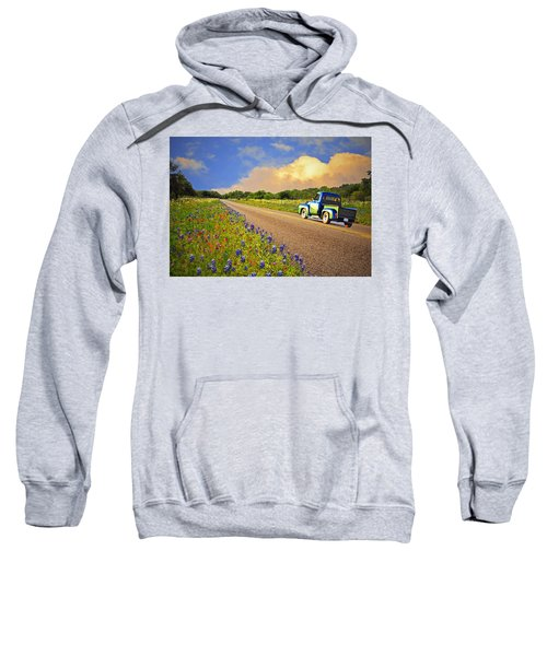Crusin' The Hill Country In Spring Sweatshirt