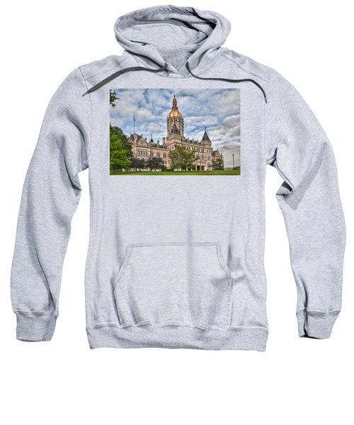 Ct State Capitol Building Sweatshirt