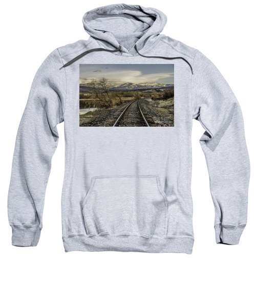 Curve In The Tracks Sweatshirt