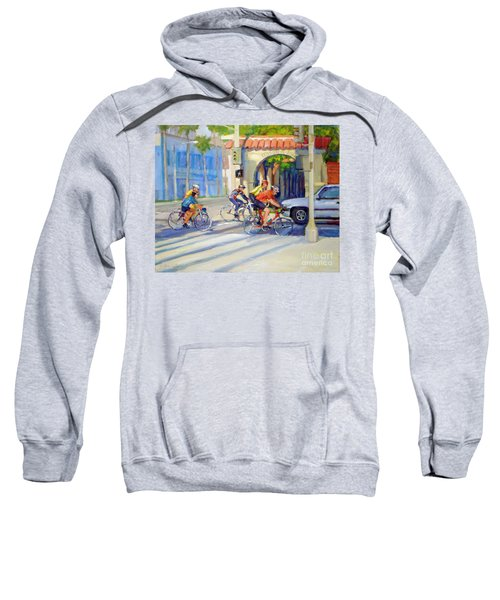 Cycling Past The Archway Sweatshirt
