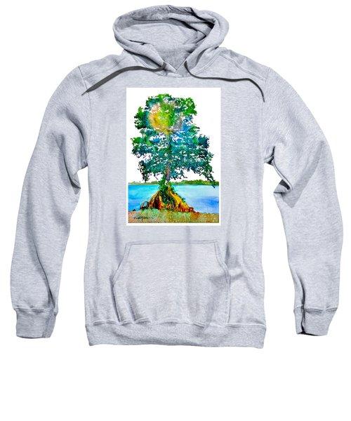 Da107 Cypress Tree Daniel Adams Sweatshirt