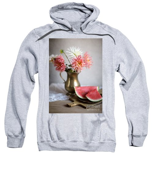 Dahlia And Melon Sweatshirt