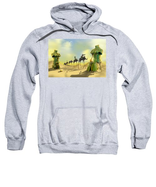 Dali On The Move  Sweatshirt