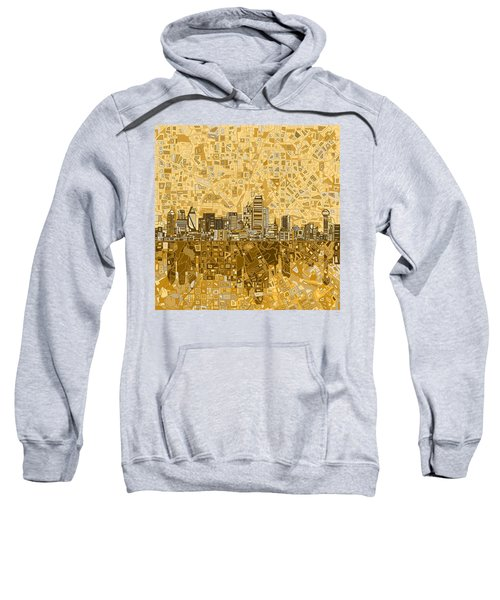 Dallas Skyline Abstract 6 Sweatshirt