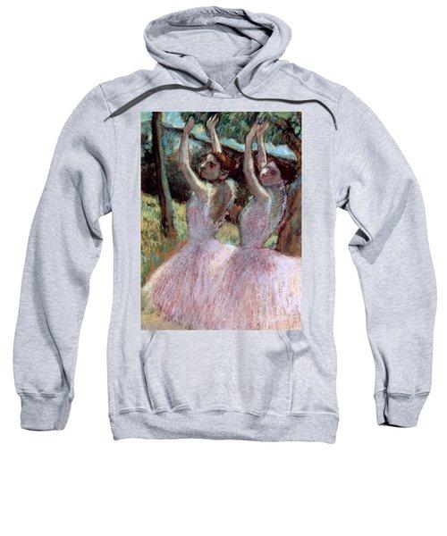 Dancers In Violet Dresses Sweatshirt