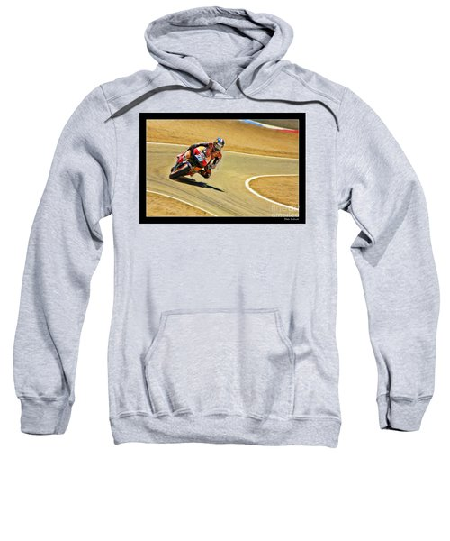 Dani Pedrosa Running Out Of Road Sweatshirt