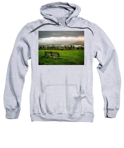 Dark Clouds Over Killarney Lakes Sweatshirt