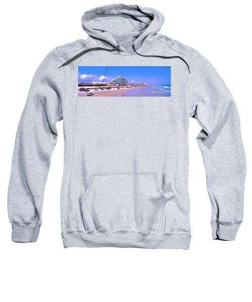 Daytona Main Street Pier And Beach  Sweatshirt