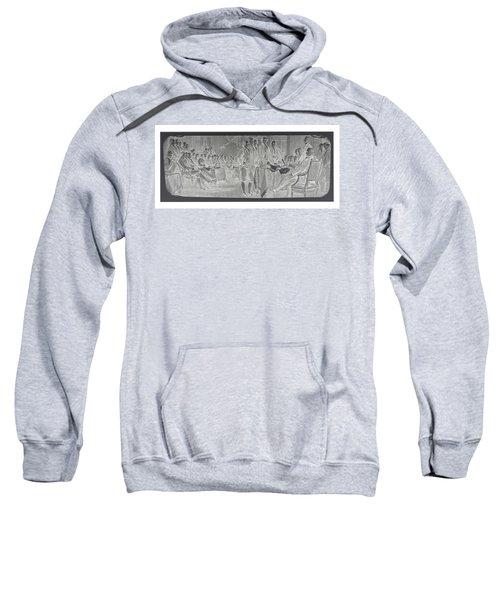 Declaration Of Independence In Negative Sweatshirt