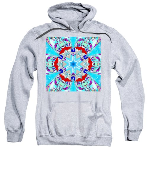 Deep Blue Geometry Sweatshirt