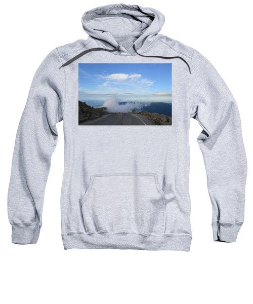 Descending Into The Clouds Sweatshirt