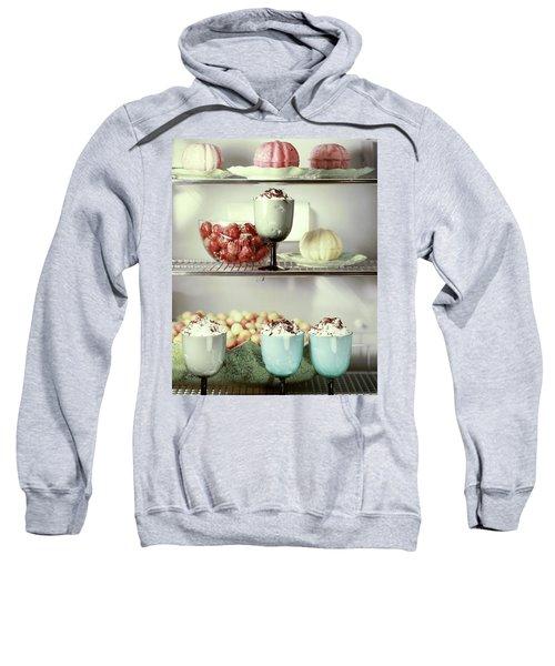 Desserts In A Refrigerator Sweatshirt