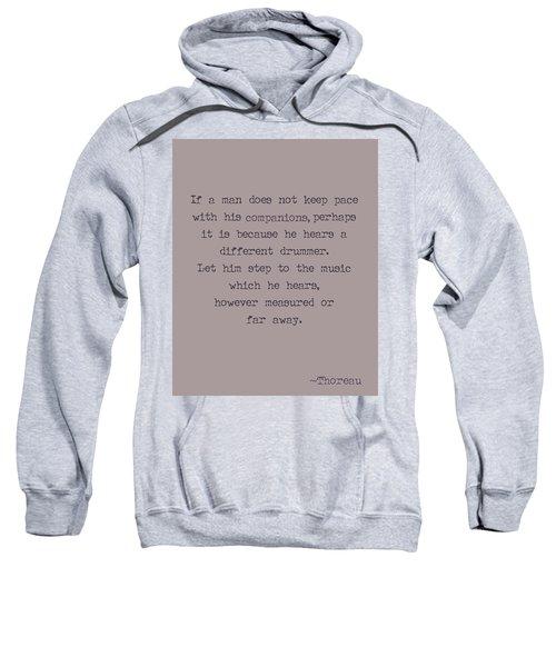Different Drummer Sweatshirt