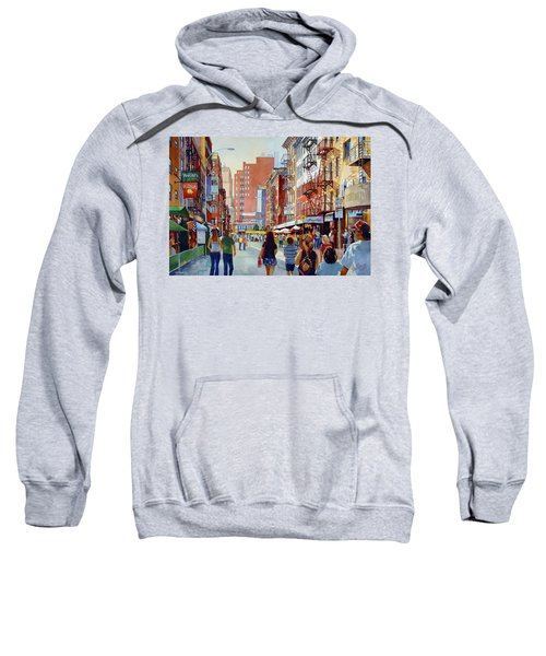 Dinner In Little Italy Sweatshirt