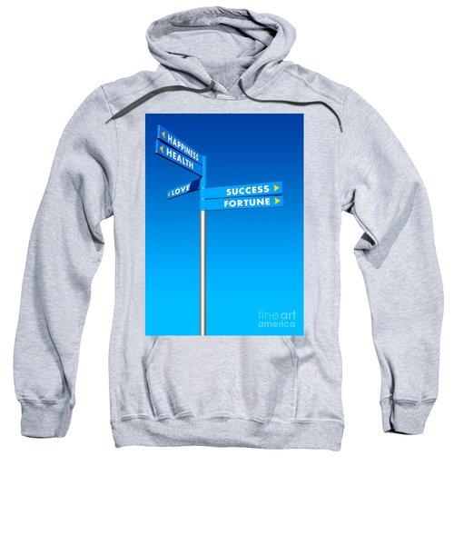 Directions To Goals Sweatshirt