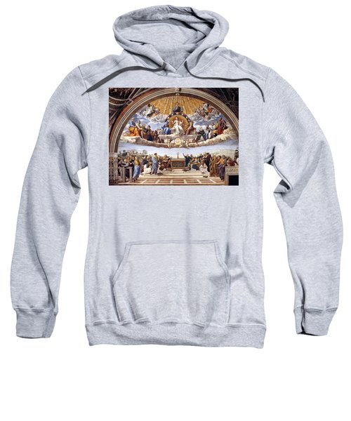 Disputation Of The Eucharist  Sweatshirt