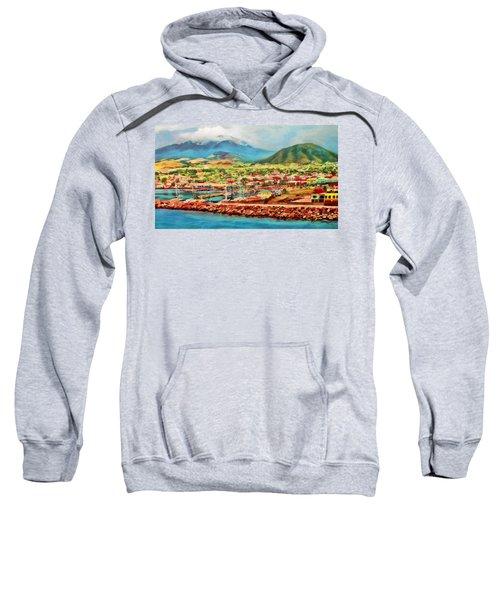 Docked In St. Kitts Sweatshirt