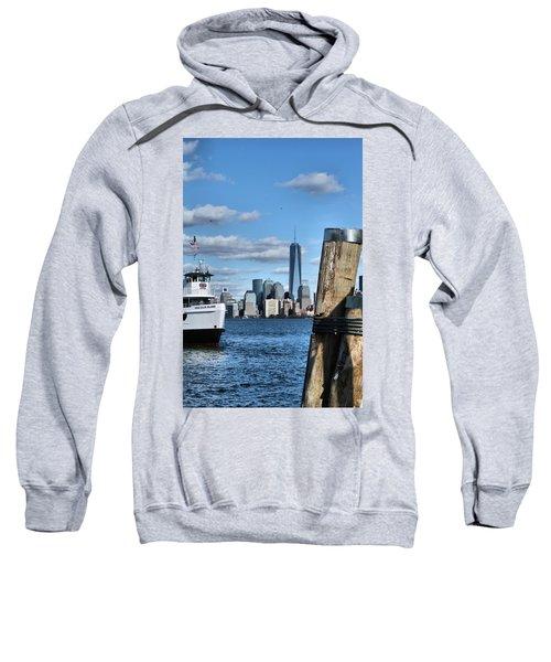 Docks In New York City Sweatshirt