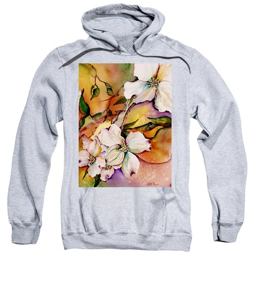 Dogwood In Spring Colors Sweatshirt