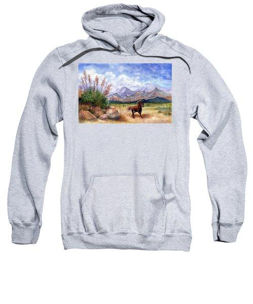 Don't Fence Me In Sweatshirt