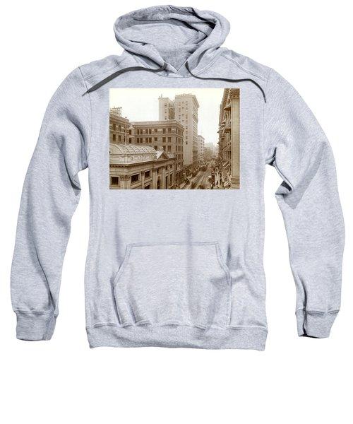 Downtown Los Angeles In 1900 Sweatshirt