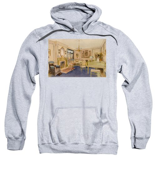Drawing Room Adam Revival Style Sweatshirt