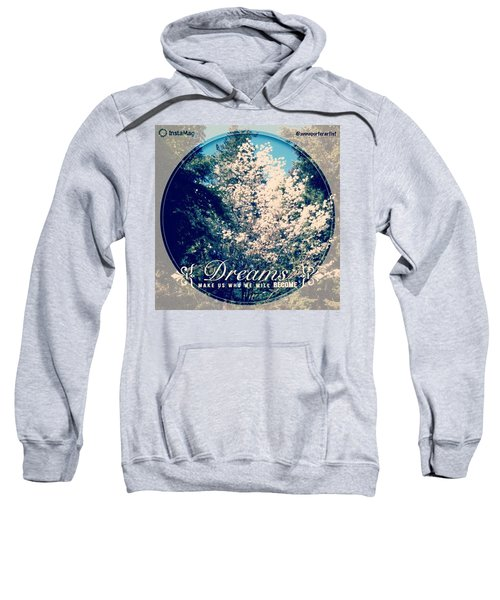 Dreams Make Us Who We Will Become Sweatshirt