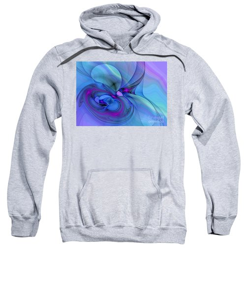 Driven To Abstraction Sweatshirt by Peggy Hughes