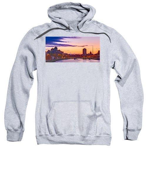 Dublin Skyline At Dusk / Dublin Sweatshirt