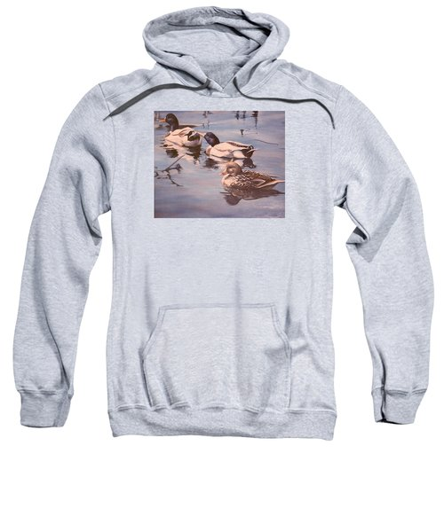 Ducks On The Cachuma Sweatshirt