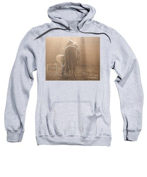 Dusty Morning Pedicure Sweatshirt