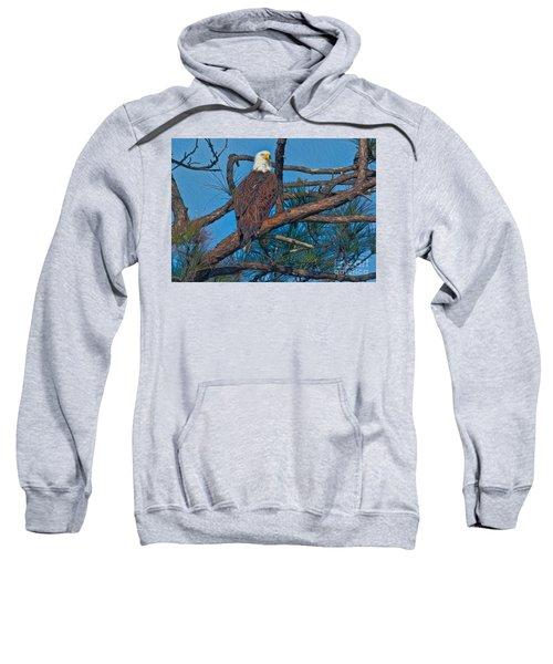 Eagle In Oil Sweatshirt