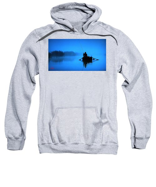 Early Morning Fishing  Sweatshirt